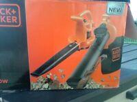 black&decker leaf blower/vac