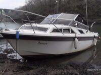 Fairline 23' weekender Motor Boat, Engine NON RUNNER