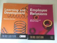CIPD Books. Employee Relations and Learning and Development.