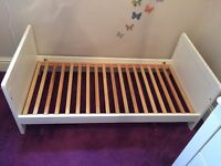 Mamas & Papas Coastline Cot/Toddler Bed with co-ordinating Dresser/Changer