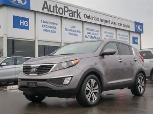 2012 Kia Sportage EX| Heated Leather| Nav| B.up Cam| Sunroof