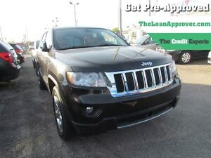 2012 Jeep Grand Cherokee Overland | AWD | NAV | ROOF | LEATHER |