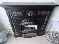 Moulded victoriana fire surround