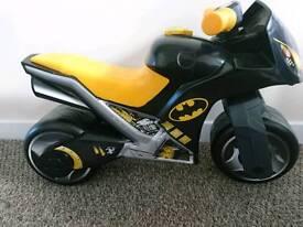 Toddler batman toy motorbike