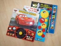 Disney Cars, Thomas and Friends, Ben 10 Play-a-sound books - unread/like new