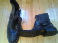 BRAND NEW DONALD J PLINER MADE IN ITALY LEATHER BOOTS SHOES M12
