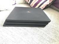 PS4 Pro 1TB immaculate condition Boxed