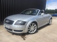 2000 (X) Audi TT Roadster Convertible Quattro 225 2 Keys 12 Months MOT 1 Month Warranty May PX