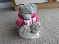 ME TO YOU TATTY TEDDY IN SEATED OPEN GIFT BOX...JUST FOR YOU WITH PINK AND WHITE HOODIE