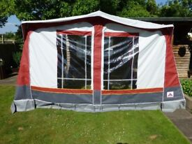 CARAVAN AWNING DOREMA SIZE 5 EXCELLENT CONDITION