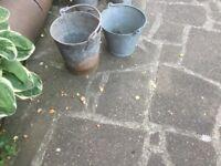 Aluminium buckets