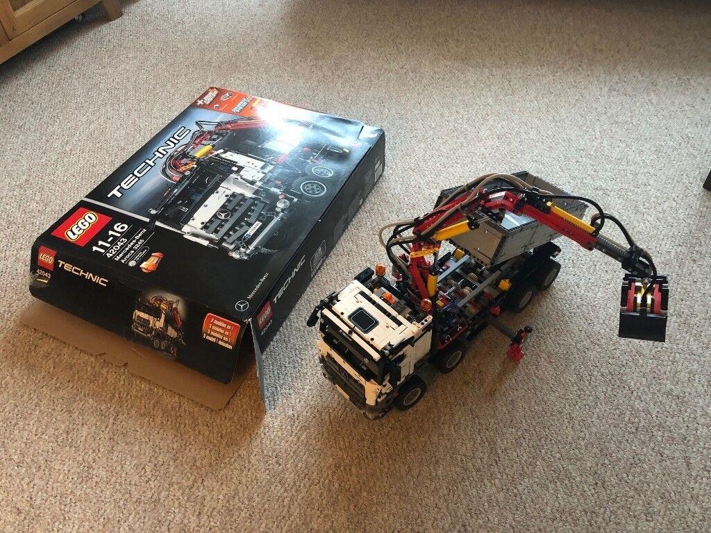 Lego Technic 42043 1 Mercedes Benz Arocs 3245 Instructions Box