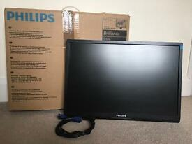 """Phillips 22"""" LCD monitor"""