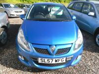 VAUXHALL CORSA 1.6T 16v VXR 3dr FULL YEARS MOT JANUARY 2019 GREAT DRIVER (blue) 2007