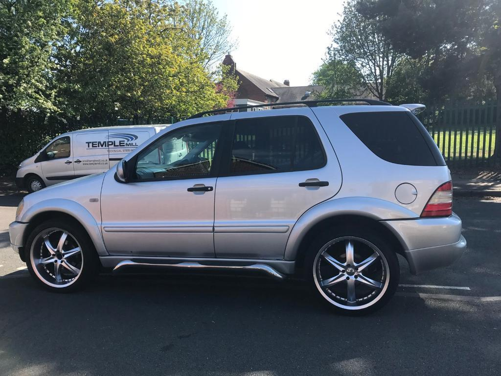 mercedes ml 270 cdi 2001 in ilkeston derbyshire gumtree. Black Bedroom Furniture Sets. Home Design Ideas