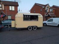 Airstream Mobile Catering Trailer Burger Van Pizza Trailer Food Cart 4000x2000x2300