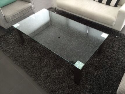 Nick Scali Glass Coffee Table Northbridge Willoughby Area Preview