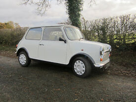 Rover Mini Sprite 1994 Diamond White 1.3SPi