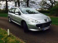 Peugeot 307 SW Diese Estate 1.6 HDI Full Service History