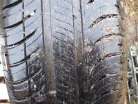 165/65r14 michelin tyre on 14in. saxo rim .