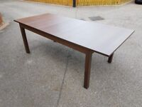 Ikea Bjursta Brown Extending Table 175cm - 260cm FREE DELIVERY 219