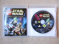 PS3 LEGO Star Wars the Complete Saga Game - Excellent Condition