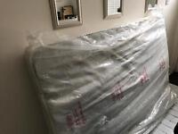 Brand new traditional coil double mattress