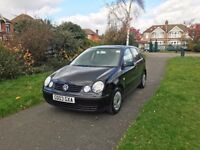 VW Polo 5dr Hatchback 2003 Facelift 1.2 E **1 OWNER FROM NEW** FSH - IDEAL FIRST CAR