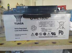 12V Yuasa SWL 1850 Battery