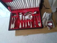 Tarnprufe collectors set . 56 pieces.