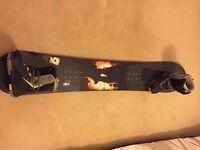 Salomon Snowboard Ace 164cm & Salomon Boots: excellent condition