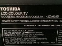 "Toshiba Regza 42"" TV"