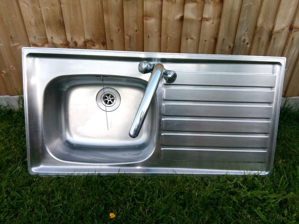 Frank Sink with Tapmate Kitchen mixer tap   in Southampton ...