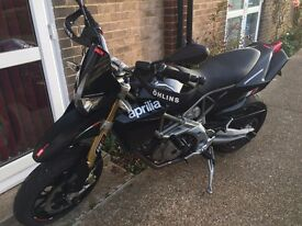 Aprilia Dorsoduro 750 only 4560 miles, one previous owner, loads of extras.