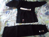 Brand new NEVER WORN black karate gi in IMMACULATE condition!