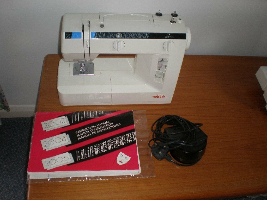 Elna sewing machine model 2004