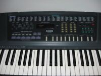 Casio CT 700. Complete with bag, stand, seat and music. Excellent condition.
