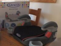 GRACO child's booster seat. As new condition, only used occasionally for grandchild.