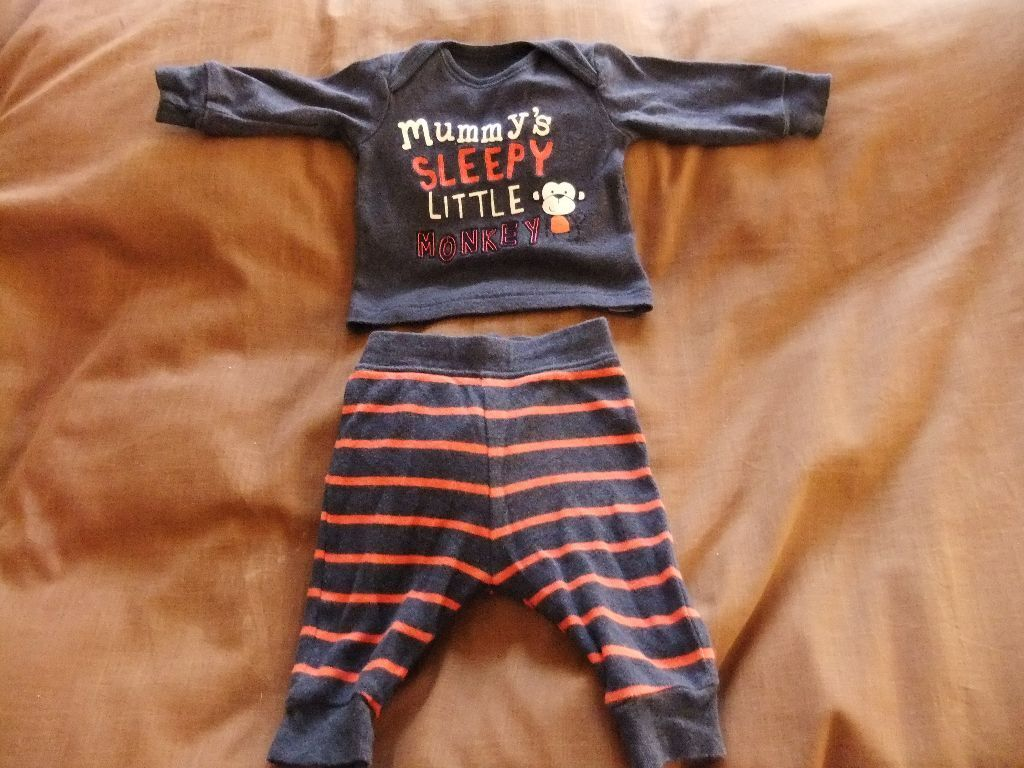 0 3 Month Baby clothes for boys 50p Each or all bits for £