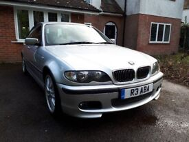 BMW 325i M Sport Saloon Genuine 67,000 Miles Very Good Condition, Manual