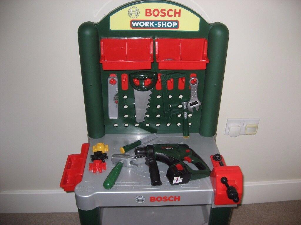 Bosch Toy Workbench & Toys