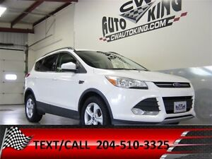 2014 Ford Escape SE / Diamond Pearl / All Wheel / Rear Cam / Fin