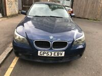 04 BMW 520 PETROL AUTO THIS CARS FOR PARTS FOR ANY PARTS CALL ON