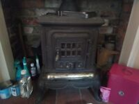 Gorgeous Traditional Large wood burning stove, Excellent Condition