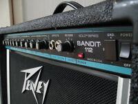 Peavey Bandit 112 Guitar Combo Amp - in good working order