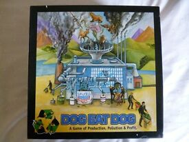 Dog eat Dog - A game of Production, Pollution & Profit