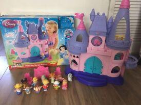 Disney princess little people castle