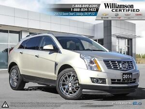 2014 Cadillac SRX PERFORMANCE**AWD*NAV**LTHR**SUNROOF**BCK UP CA