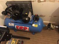 Brand new compressor & air pressure tools
