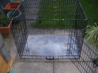 """Large Animal Crate Cage 3ft x 2ft 1"""" x 2ft 3"""""""